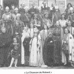 1920 Le Théâtre de la Cambronnaise présente la chanson de Rolland