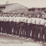 1924 Adultes champions de France à Tours