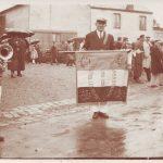 1932 La Cambronnaise présentation du drapeau
