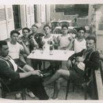 1950 Gymnastes après la compétition