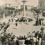 1962 Concours départemental Cérémonie au monument aux Morts