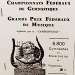 1970 Championnats fédéraux gymnastique et musique à St Sébastien