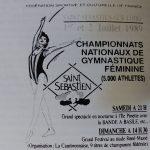 1989 Affiche Championnat Fédéral GAM