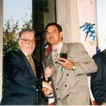 1995 Le Président de la FSCF et Christian Babonneau