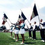 1995 Présentation des drapeaux festival